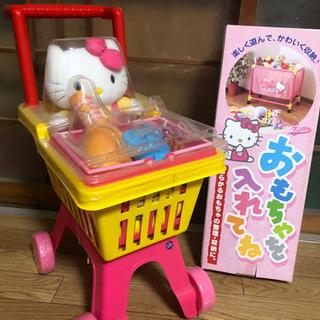 レトロおもちゃ キティちゃんのおままごとセット