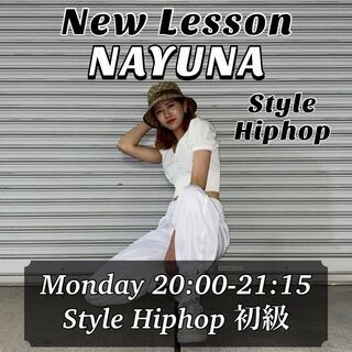 ☆Style Hiphop 初級☆ 生徒募集!