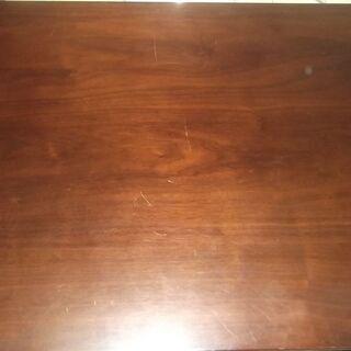 ★☆★0円 無料 ニトリ NITORI 机 つくえ 折り畳み おりたたみ 取り外し可能  テーブル ローテーブル ダークブラウン★☆★の画像