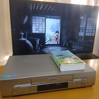パナソニック VHSビデオデッキ 懐かしいVHSテープの視…