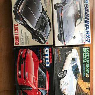 1/24 スープラ サバンナRX-7   GTO  ロータスヨーロッパ