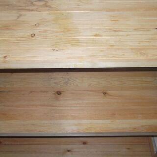 ★☆★0円 無料 レンジ台 棚 木製 食器棚 木の棚 たな 収納★☆★ - 横浜市