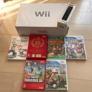 【ネット決済】Nintendo Wiiフルセット*ソフト付き*す...