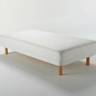 【ネット決済】【ほぼ新品未使用に近い状態】無印良品シングルベッド