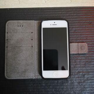 iphone5 ケース付き