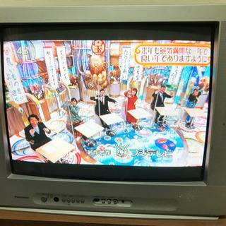 パナソニック25型ブラウン管テレビ地デジチューナー付き