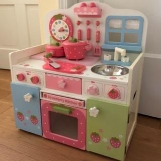 マザーガーデン 木製おもちゃキッチン ままごと 女の子
