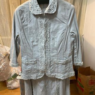 定価¥25000!デニム素材ロングスカートスーツ