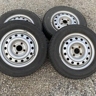 145/80R13 スタッドレスタイヤ+ホイール 4本セットZETRO