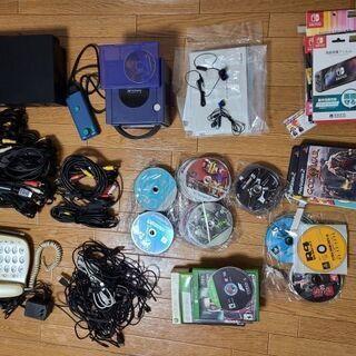 ゲーム機本体 ps2・ゲームキュープ ゲームソフト多数(PS3・...