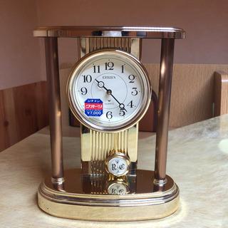 シチズンクォーツ スクラム 4RP669 金色置時計