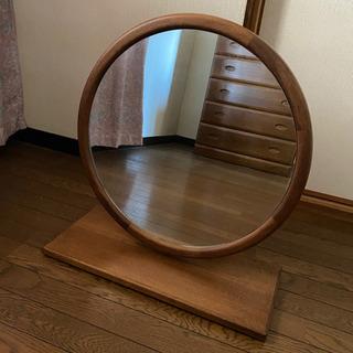鏡 鏡台 丸型