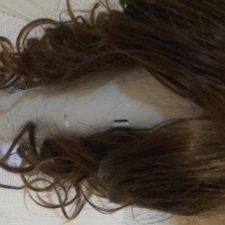 前髪ありの毛先カールウイッグ無料❗️