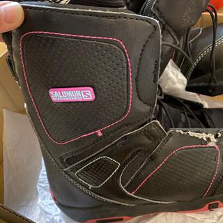 スノーボード ブーツ レディース 23.5 SALOMON