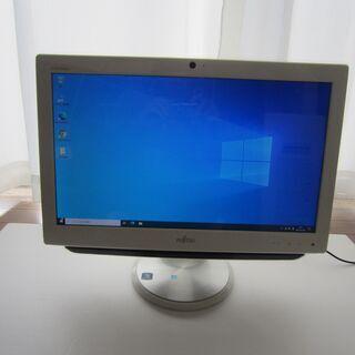 20型液晶搭載一体型PC 富士通FMV-ESPRIMO EH30...