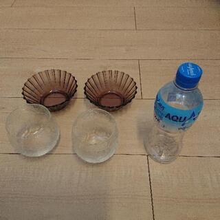 【値下げしました】小鉢&サッカーグラス