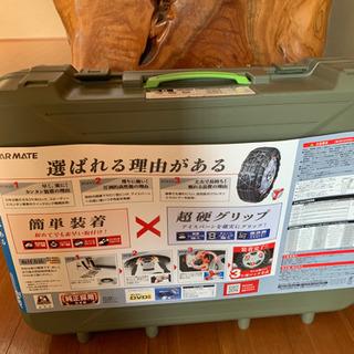 【ネット決済・配送可】非金属タイヤチェーン