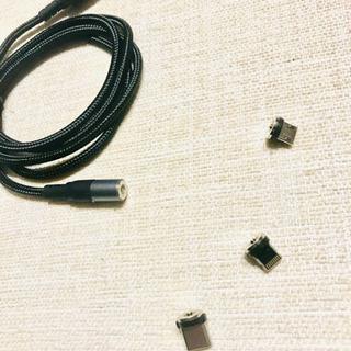 マグネット式充電ケーブル1m、端子②