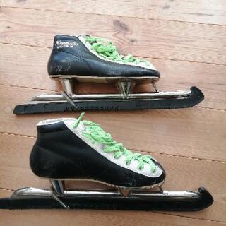 1/15 値下げしました! スピードスケート23.0㎝とバ…