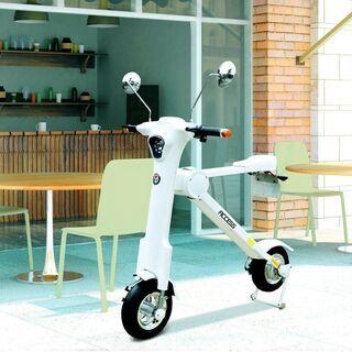 【ネット決済・配送可】折り畳み電動バイク キュート・ML 充電式
