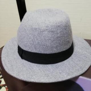 (超美品)‼️GUグレー帽子‼️超激安❗お値打ち‼️お得‼…