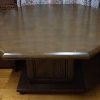 コーナータイプのテーブルと椅子のセット - 荒尾市