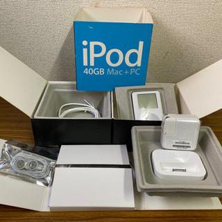 ★未使用 極美品 完品 Apple ipod 40GB HDD ...