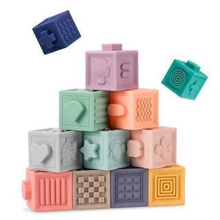 知育玩具 ベビー ソフトブロック