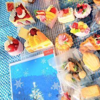 クリスマス ケーキ 大量 オーナメント ハンドメイド スイ…