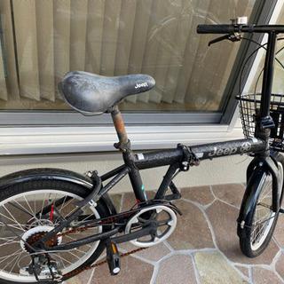 至急 折り畳み自転車(譲ります)