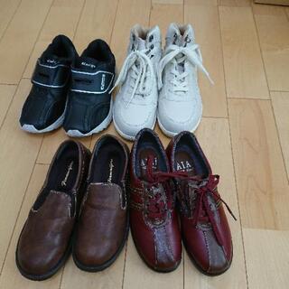 断捨離中レディースの23センチ未使用の靴です。