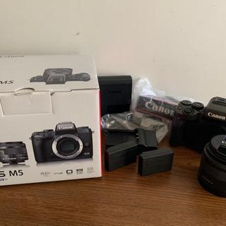 Canon EOS M5 レンズセット 15〜45mm