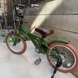 【美品】子供用キッズ自転車 16インチ BMXタイプ