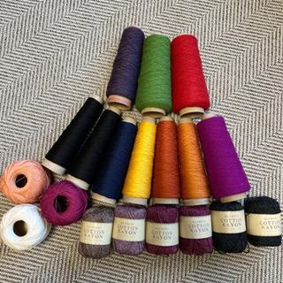 毛糸 刺繍糸など色々 まとめての画像