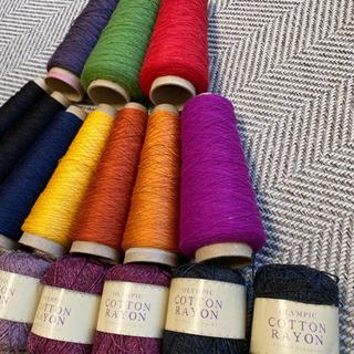 毛糸 刺繍糸など色々 まとめて - 広島市