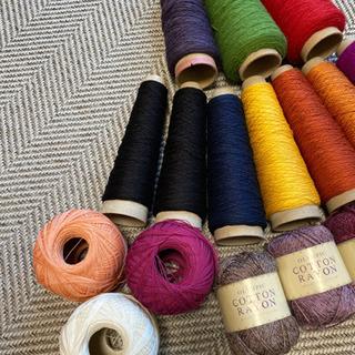 毛糸 刺繍糸など色々 まとめて − 広島県