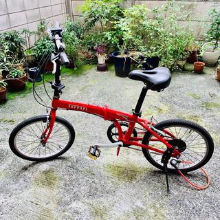 フェラーリの折りたたみ自転車✩.*˚