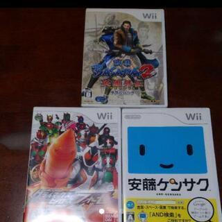 任天堂 Wii 戦国BASARA 仮面ライダー 安藤ケンサク