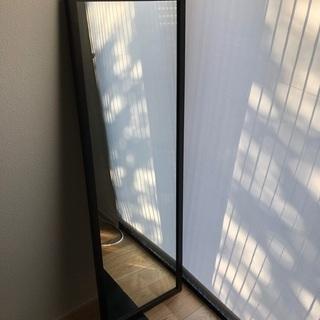 無印良品 壁に付けられる家具・ミラー・中・タモ材