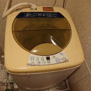 【お話し中】Haier 洗濯機 5㎏