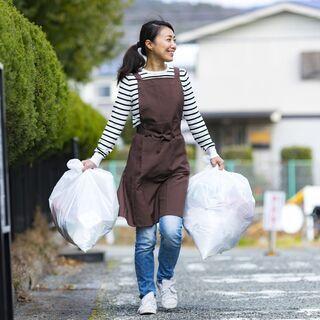 【1回3200円!週1~OK】共用部清掃&ゴミ出しのお仕事…