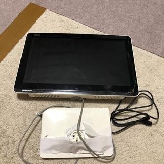 SHARP AQUOS 小型テレビ 首折れ 譲ります