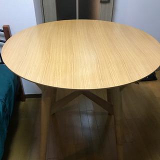 【ネット決済】ニトリ 円形 ダイニングテーブル