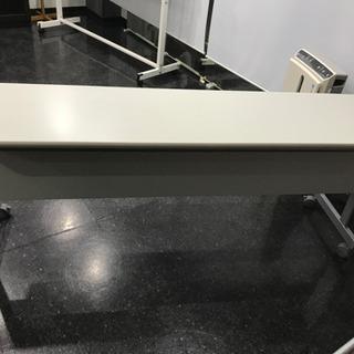 スタッキング会議テーブル180cmと椅子2脚