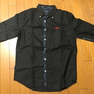 【美品】TOMMY 七分袖シャツ size L トミー