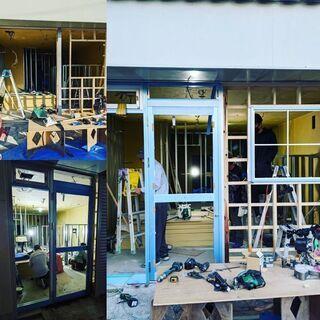店舗 大工 家具 建具 取付 職人募集