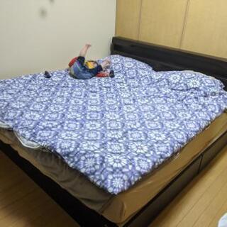 キングサイズベッド 東京インテリア 1/16.17に取りに…