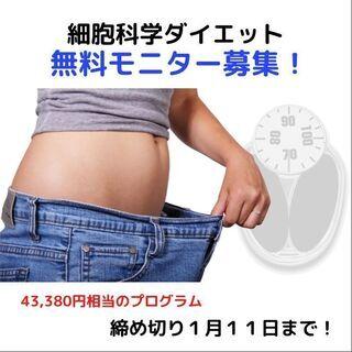 1月11日まで!お年玉企画*7日間で激変!無料ダイエットモニター...