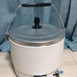 【ネット決済】ガス炊飯器 8合炊き 昭和55年製(都市ガス)