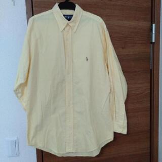 【POLO ポロラルフローレン】ボタンダウンシャツ イエロー